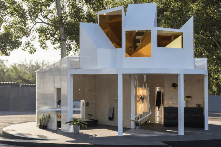 MINI LIVING Urban Cabin Inspired By Chinese Hutongs