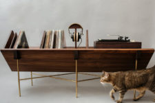 02 The Open 45 Credenza has a modular setup that allows to personalize the piece as you want