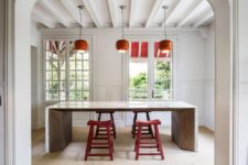 breakfast space is a great addition to any kitchen