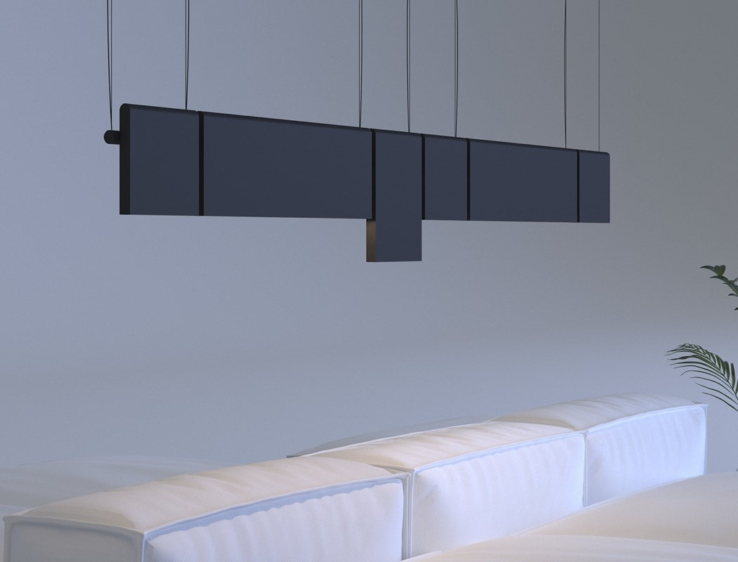 The lamp grabs attention and makes a stylish statement in any space with its look