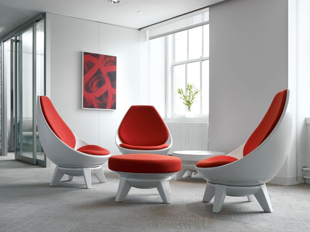 There are several types and colors of upholstery available
