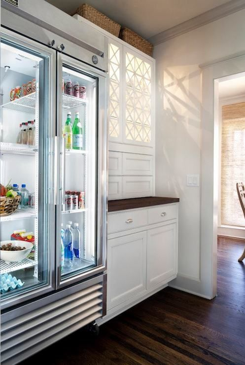 if you wanna keep your fridge organized and in perfect order buy a glass door fridge and you'll have inspiration