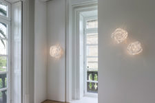 06 Nevo lamps are available in pendant, wall, table and floor versions