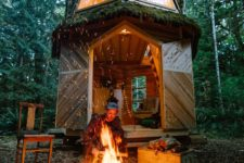 07 This is a great option for those who love to live in the forest and relax