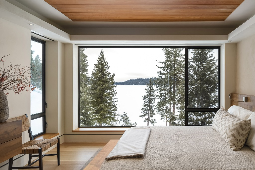The other bedrooms also show off gorgeous views and comfy windowsills that can be used for sitting