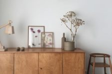 12 mid-century modern lines and aesthetics are close to Scandinavian style and Japandi styling
