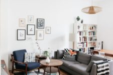 13 clean and simple lines of the furniture and accessories are what you need for a mid-century modern space