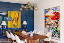 21 discover super bright colors and abstract prints decorating your home in mid-century modern style