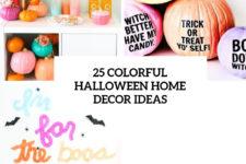 25 colorful halloween home decor ideas cover
