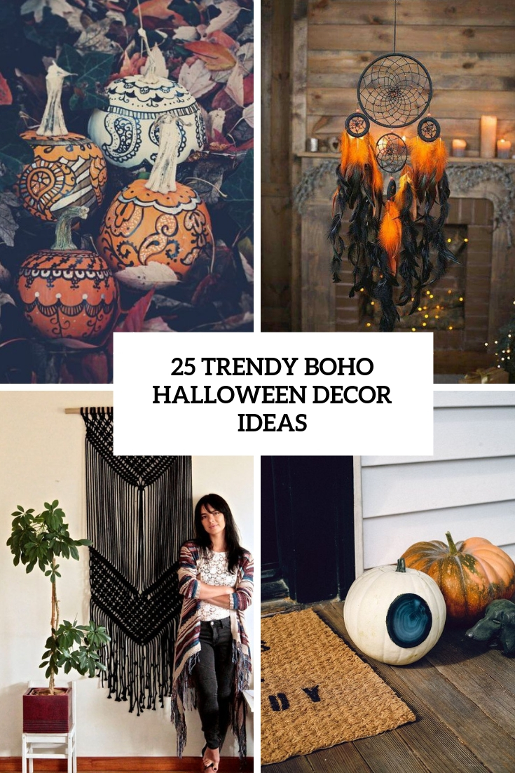 25 Trendy Boho Halloween Decor Ideas