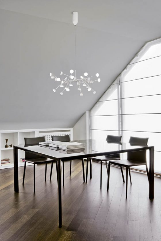 ADN lighting collection is inspired by DNA structure and looks very, simple yet chic