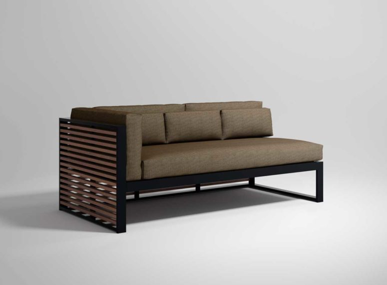 Stylish Contemporary DNA TEAK Collection