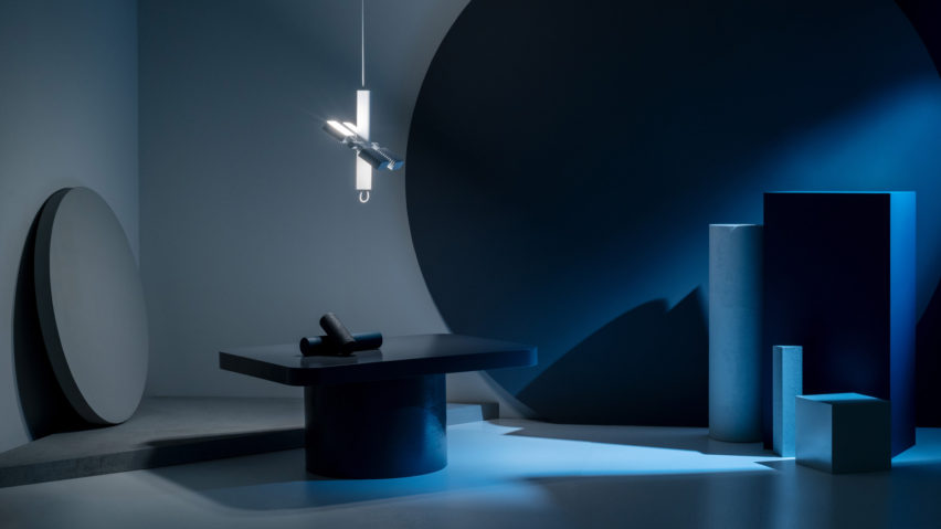 Dorval light is a unique piece inspired by the International Space Station