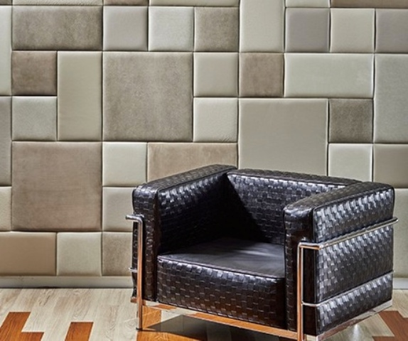 Leather Wall Panels And Wall Tiles For An Edgy Touch