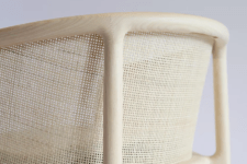 01 The Masque chair collection is done in modern materials but with an iconic design