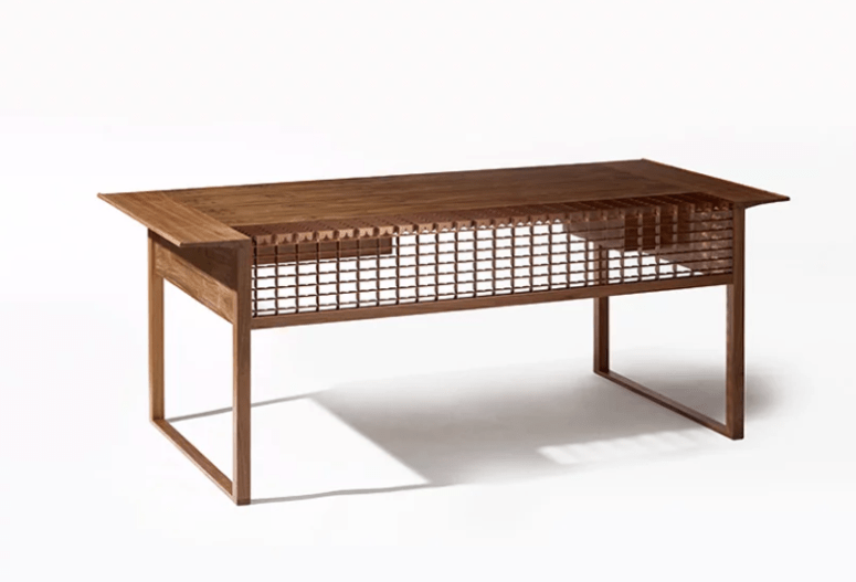 This Desk Belongs To A New Furniture Collection All Clad With Traditional  Korean Tiles Called Giwa