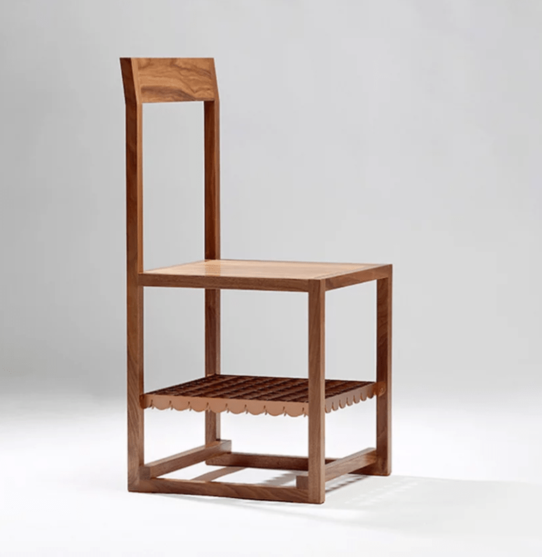 The furniture designs reinterpret the traditional Korean furniture and make it look fresh