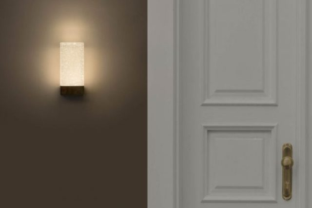 The sconce is ideal for bathrooms, hallways, dining rooms or other spaces where you need a bedroom