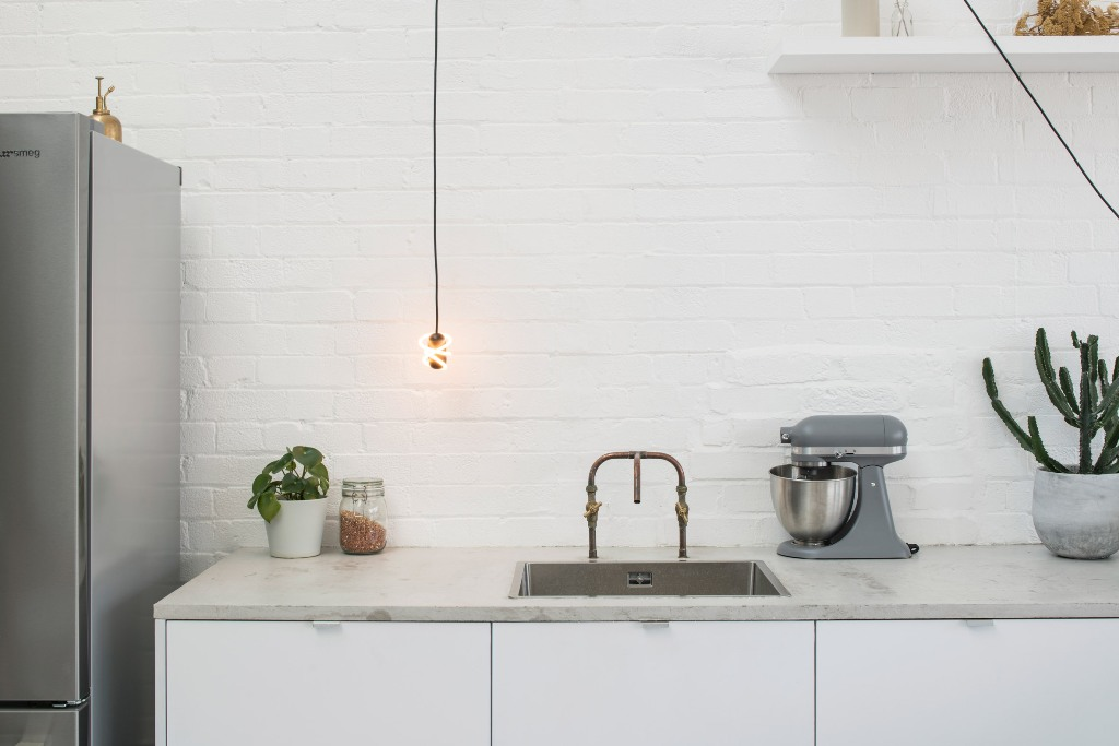 Curli lamp speaks for itself and shows off a swirl of light, which you can hang anywhere you want