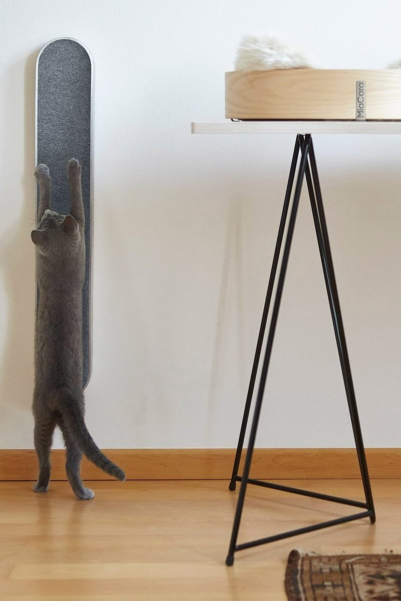 Such designs are much more modern, they won't spoil any decor and your cat will be really happy to use them