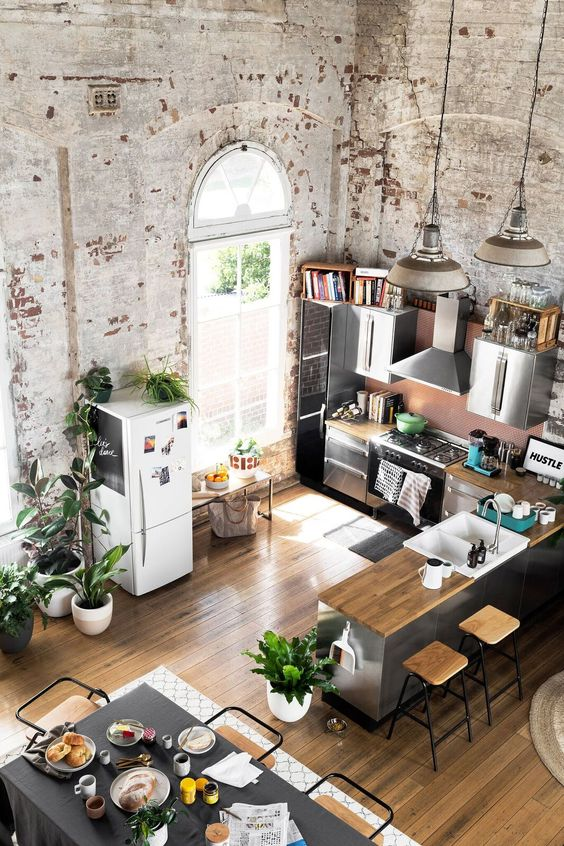 What Is An Industrial Style Home And 23 Examples Digsdigs