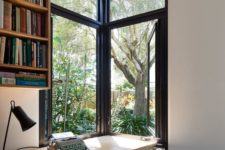 07 a double corner window brings even more light while keeping your home office more private