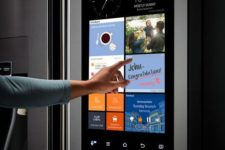 08 a smart fridge will help you keep an eye on food, information about it, calories and much other stuff