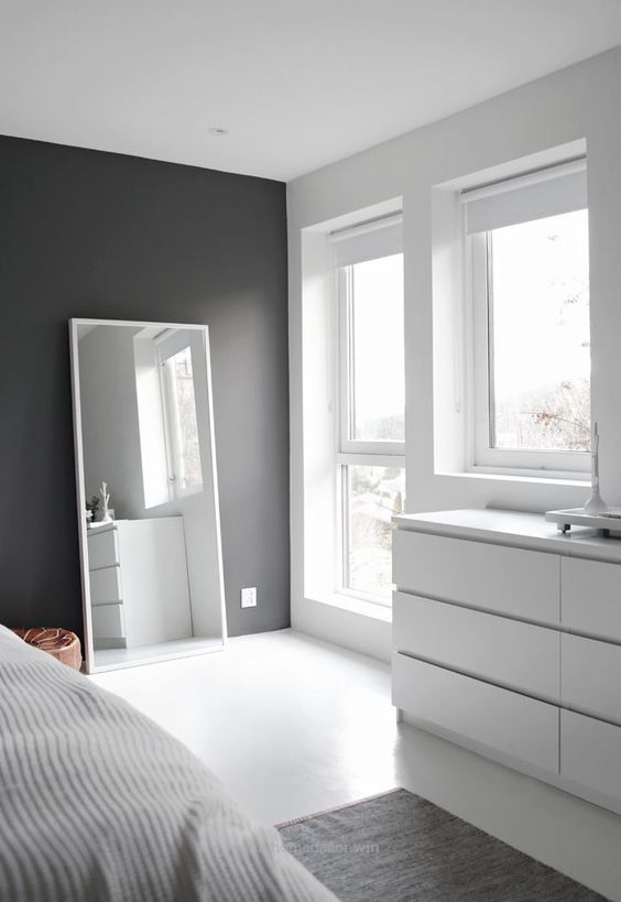 negative space is a must for a minimalist room, plus it raises your mood and makes you feel at ease
