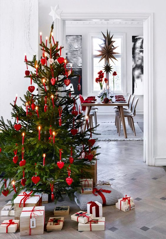 25 Scandinavian Christmas Tree Decor Ideas Digsdigs