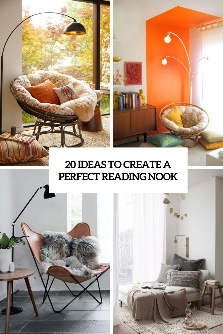 20 Ideas To Create A Perfect Reading Nook