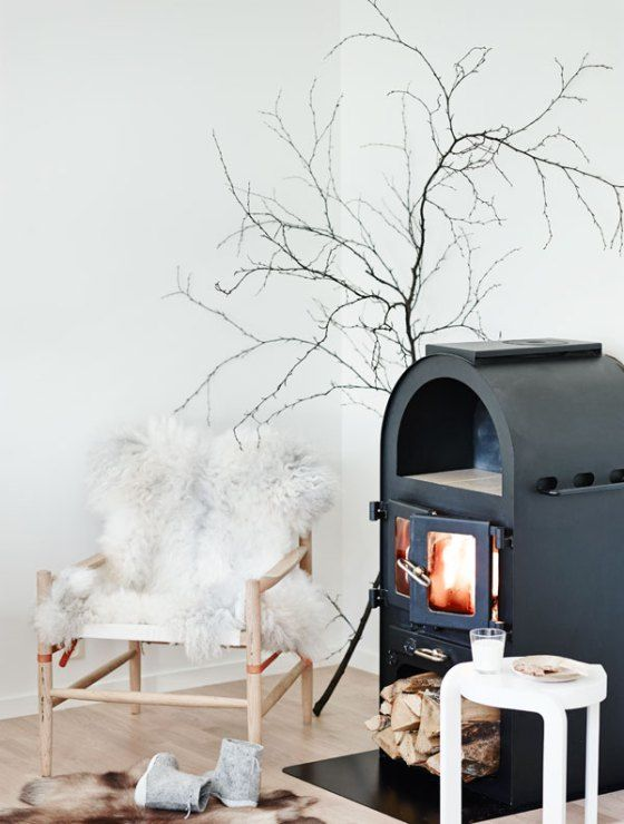 you may also try various modern stoves if you don't feel like Scandinavian traditionalism