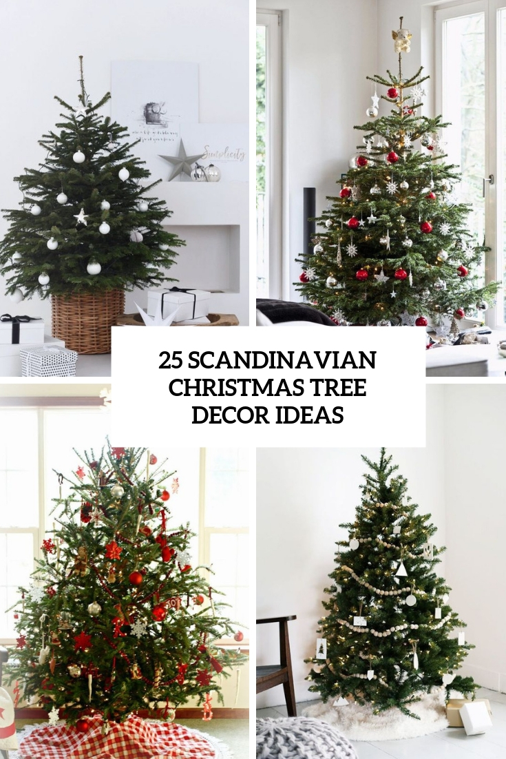 scandinavian christmas tree decor ideas cover
