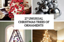 27 unusual christmas trees of ornaments cover