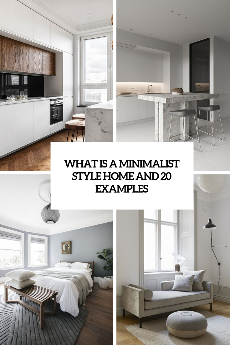 what is a minimalist style home and 20 examples cover