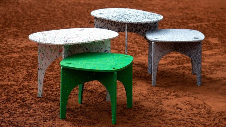 Eco-Friendly Furniture Made Of Recycled Plastic Bottles