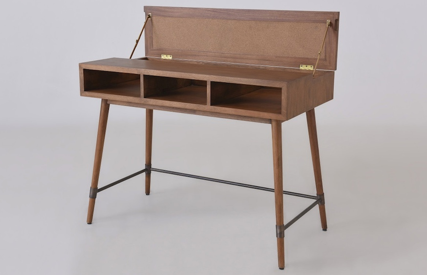 Yuma Desk is a stylish and refined office item with plenty of storage space and design with attention to detail, it's totally worthy of even the most exquisite space