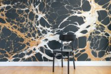 creative wallpaper as an accent