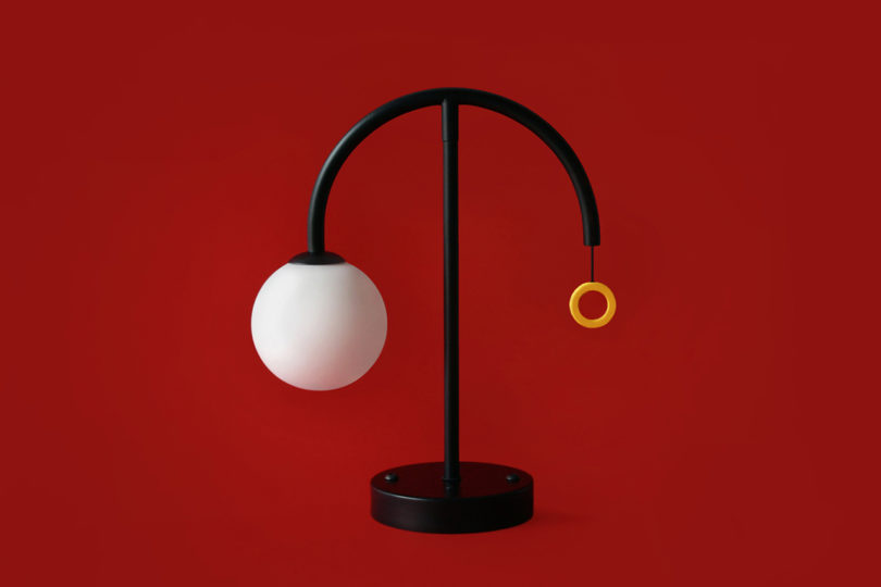 These balanced lamps look like moving sculptures and they are very cool to make your interior more eye catchy