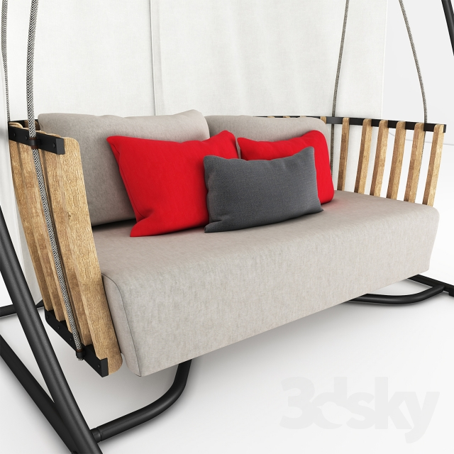 perfect swing for a porch