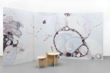03 Gradients, metallics, ombre, woven fibers recreate fantastic wallpaper that will excite anyone