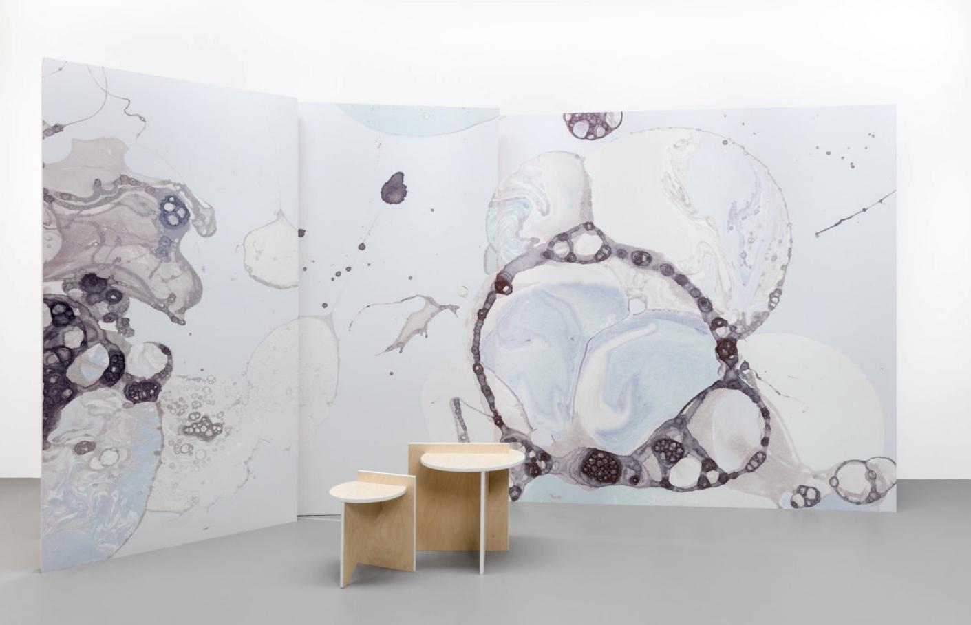 Gradients, metallics, ombre, woven fibers recreate fantastic wallpaper that will excite anyone