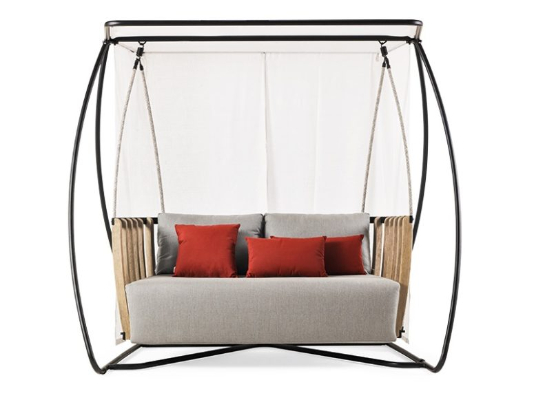 There are also chairs, tables and sofas that match the swing and you may choose any of them you like