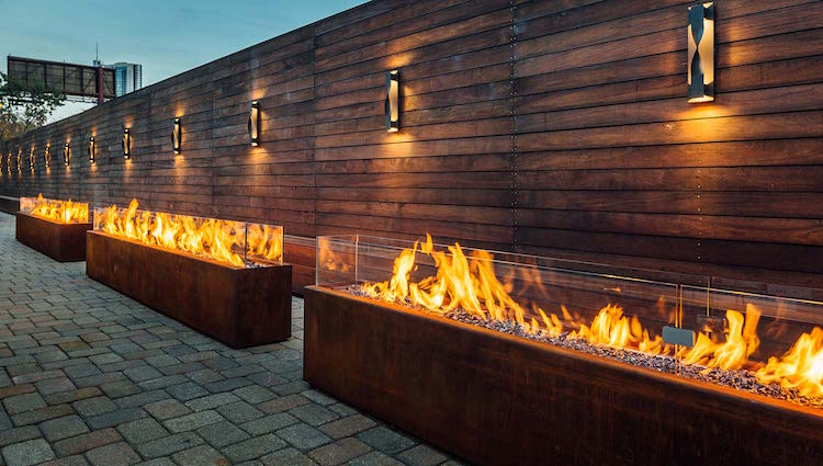 Warm up and cozy up your cold outdoor spaces with Komodo