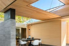 07 The spaces feel open yet intimate and cozy, there are skylights and windows