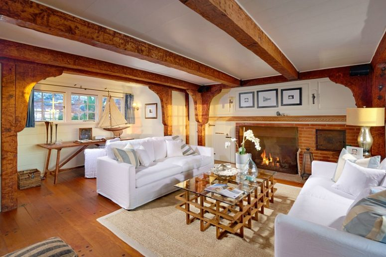 Fireplaces are provided throughout the property to make it cozy and welcoming