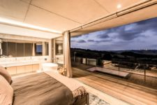 09 These amazing views are very relaxing and can be seen from every space, timber screens can be used for privacy