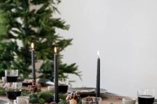 nordic-inspired christmas table setting