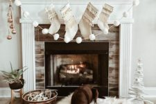 09 neutral Christmas decor is always a win-win idea, it doesn't make your space feel smaller and reminds of snowy locations