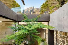 zen-inspired courtyard design