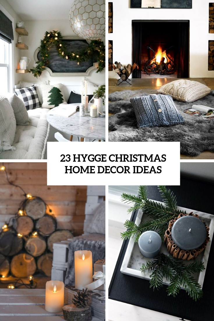 hygge christmas home decor ideas cover